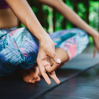 Naturmaterialien Yogamatte